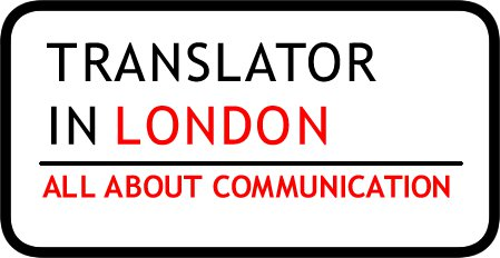 Translator in London Logo